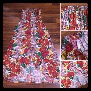 🦋2/$10 3/$15 4/$18 5/$20 Floral Maxi Dress